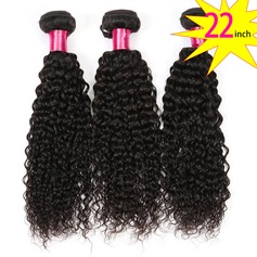 22 inch 8A Brazilian Virgin Human Hair Kinky Curly(1 Bundle 100g)