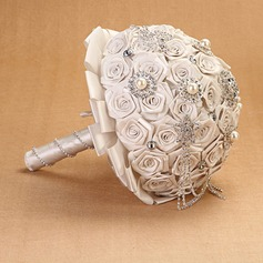 Pure Round Cloth Bridal Bouquets