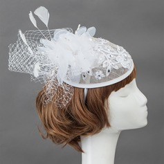Elegant Feather Fascinators/Flowers & Feathers