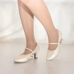 De mujer Cuero Tacones Estilo Moderno Jazz Zapatos de danza