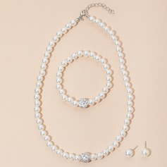 Nizza Faux-Perlen Damen Schmuck Sets (011129641)