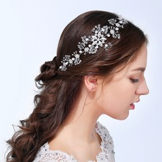 Ladies Pretty Alloy Headbands With Rhinestone
