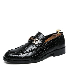 Men's Leatherette Horsebit Loafer Casual Dress Shoes Men's Loafers (260208020)