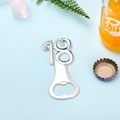 Anniversary/Birthday Zinc Alloy Bottle Openers