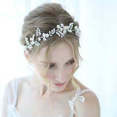 Elegant Alloy Headbands With Rhinestone/Venetian Pearl (Sold in single piece)