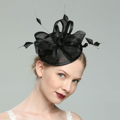 Ladies' Glamourous/Elegant/Fancy Cambric With Feather Fascinators