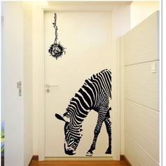 Cartoon Simple Novelty 3D PVC Wall Sticker (Sold in a single piece)