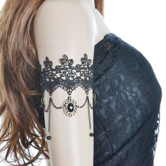 Elegant Alloy/Lace Ladies' Body Jewelry