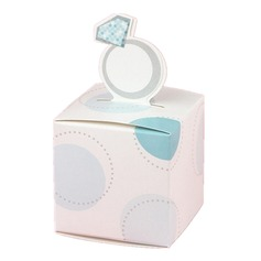 12pcs/set Ring Design Wedding Favor Box