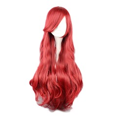 Wavy Synthetic Hair Synthetic Wigs 380g