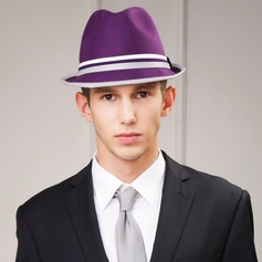 Men's Fashion Wool With Bowler/Cloche Hat