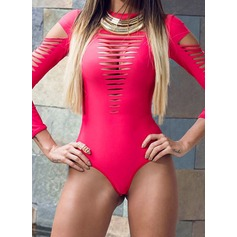 Fashional Solid Color One-piece