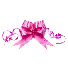 Lovely Bowknot Rose Design PVC Decorative Accessories
