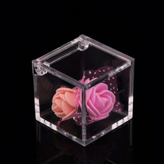 Creative/Lovely Cubic Plastic Favor Boxes & Containers/Candy Jars and Bottles