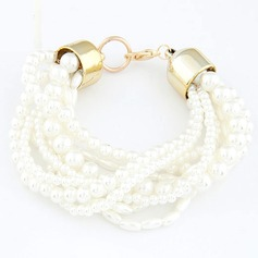 Beautiful Alloy/Pearl Ladies' Bracelets