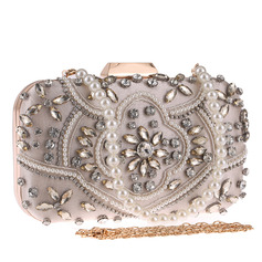 Elegant/Charming/Pretty Polyester Top Handle Bags/Bridal Purse/Evening Bags (012221424)
