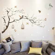 Double-sided aesthetic removable wall sticker (Sold in a single piece)