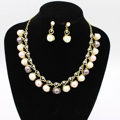 Beautiful Alloy With Imitation Pearl Jewelry Sets