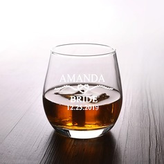 Bride Gifts - Personalized Classic Attractive Special Glass Glassware and Barware