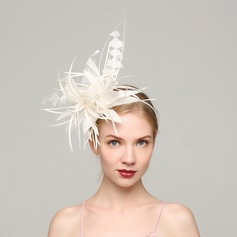 Dames Élégante Feather avec Feather Chapeaux de type fascinator/Kentucky Derby Des Chapeaux/Chapeaux Tea Party