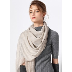 Solid Color Oversized/simple/Cold weather Cashmere Scarf (204173999)
