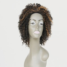 Curly Synthetic Hair Lace Front Wigs 200g