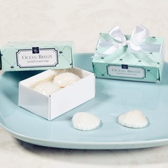 """Ocean Breeze"" Seashell Scented Soaps"