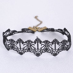 Chic Alloy With Lace Ladies' Fashion Necklace