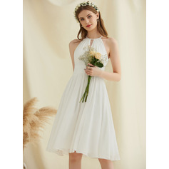 Chiffon Wedding Dress (265251670)