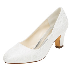 Women's Silk Like Satin Stiletto Heel Closed Toe Pumps (047096509)