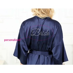 Personalized Nylon Bridal/Feminine  Robe(20 letters or less)(041116923)