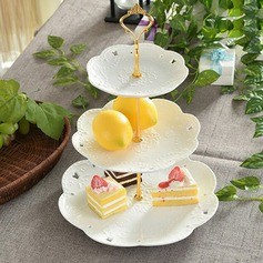 Ceramic 3Tier Cake Stand / Cake Tower / Cake Dishware Party Decors