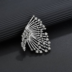 Vintage Alloy Rhinestones Women's Fashion Earrings (Sold in a single piece)