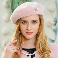 Ladies' Elegant Polyester With Rhinestone/Pearl Beret Hat