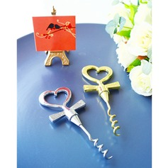 "Heart Shaped/""Sweet Heart"" Heart Shaped/Heart Design Metal Bottle Openers"