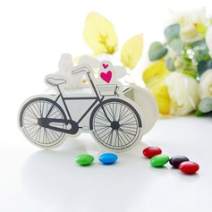 Classic Bicycle Shaped paper Favor Boxes