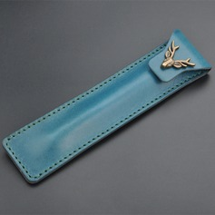 Groomsmen Gifts - Personalized Vintage Alloy Leather Pen Case