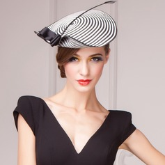 Moda/Elegante Papiro Fascinators/Kentucky Derby Hats/Cappelli da Tea Party