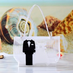 Bride & Groom Handbag shaped Favor Bags