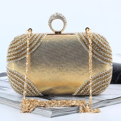 Mode Kristall/Strass Grepp/Satchel