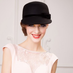 Ladies' Glamourous Wool Bowler/Cloche Hat