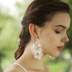 Ladies' Charming Alloy Rhinestone/Imitation Pearls Earrings For Bride/For Bridesmaid/For Mother/For Friends/For Her (011250900)