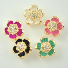 Nice Alloy With Rhinestone Girls' Fashion Earrings