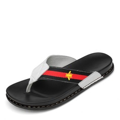Men's Real Leather Casual Men's Slippers (263171697)