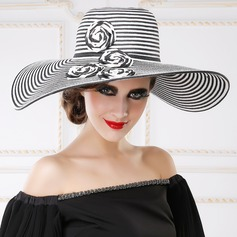 Ladies' Eye-catching Papyrus Floppy Hat/Straw Hat/Kentucky Derby Hats