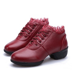 Donna Similpelle Sneakers Jazz Prova Scarpe da ballo
