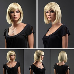 Straight Synthetic Hair Capless Wigs 170g