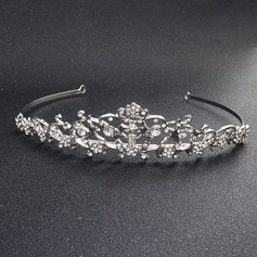 Ladies Classic Alloy Tiaras With Rhinestone