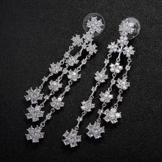 Gorgeous Alloy Zircon Ladies' Fashion Earrings