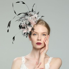 Dames Betoverend/Elegant/Luim Feather met Feather Fascinators/Kentucky Derby Hats
